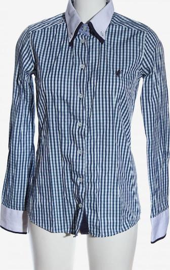 CULTURE Langarmhemd in M in blau / türkis / weiß, Produktansicht