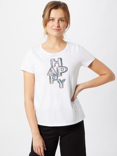 LIEBLINGSSTÜCK T-shirt 'Cirsten' en mélange de couleurs / blanc: Vue de face