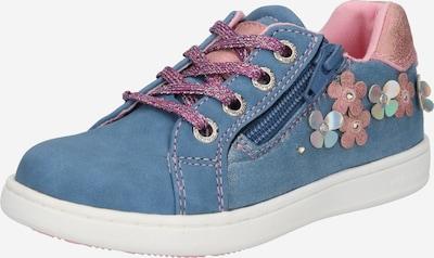 TOM TAILOR Chaussure basse en bleu / rose clair, Vue avec produit