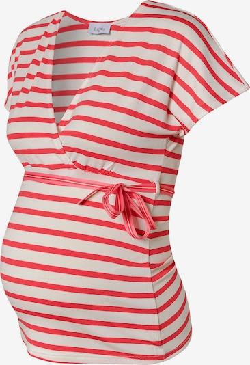 Balloon Shirt in rot / weiß, Produktansicht