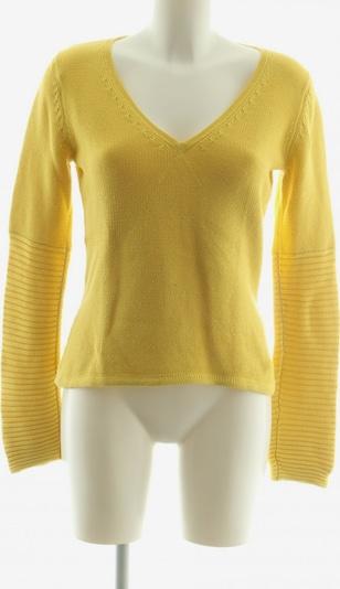 PUR V-Ausschnitt-Pullover in L in pastellgelb, Produktansicht