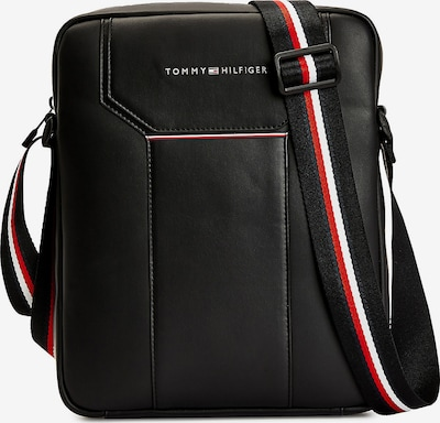 TOMMY HILFIGER Laptop Bag in Blood red / Black / White, Item view
