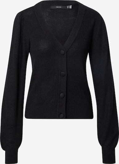 VERO MODA Strickjacke 'NEW LEXSUN' in schwarz, Produktansicht
