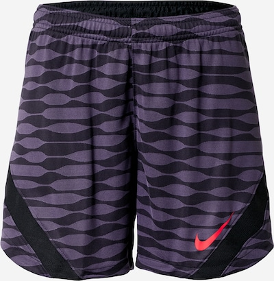NIKE Sports trousers in Dark purple / Black, Item view