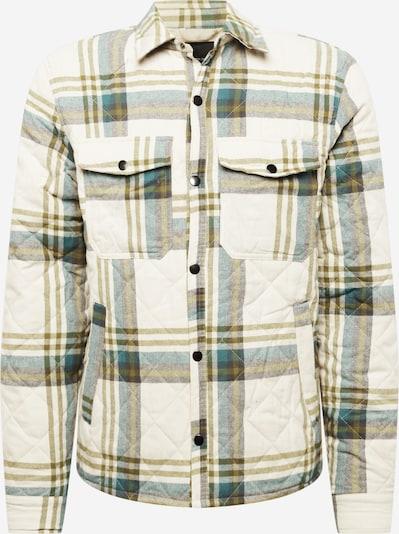 Cotton On Jacke in ecru / navy / rauchblau / oliv, Produktansicht