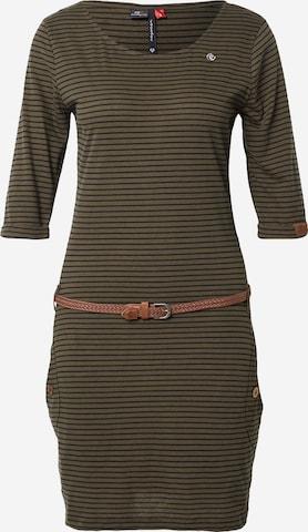 Robe 'TANYA' Ragwear en vert