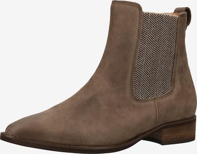 GABOR Chelsea Boots in grau / graumeliert: Frontalansicht