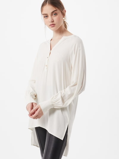 VERO MODA Chemisier 'Heidi' en blanc cassé, Vue avec modèle