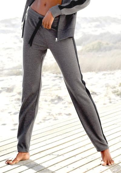 BENCH Hlače 'Lounge Pants' u antracit siva, Prikaz modela