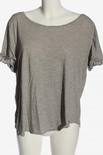 H&M Ringelshirt in XL in schwarz / wollweiß, Produktansicht