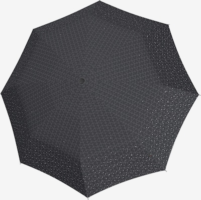 KNIRPS Paraplu in de kleur Lichtgrijs / Zwart, Productweergave