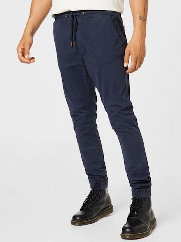 Pantaloni 'Fields' di INDICODE in blu