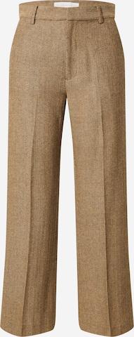 Pantaloni con piega frontale 'TYN' di Designers Society in beige