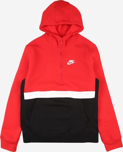 Nike Sportswear Bluza w kolorze czerwony / czarnym, Podgląd produktu