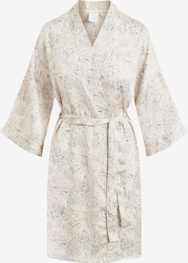 CCDK Copenhagen Kimono 'Jean' in beige / creme / dunkelgrau, Produktansicht