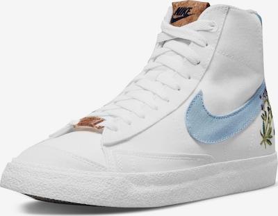Nike Sportswear Sneaker 'Blazer Mid '77 SE' in hellblau / weiß, Produktansicht