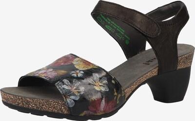 THINK! Sandalen in blau / dunkelpink / schwarz, Produktansicht