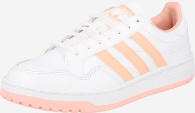 ADIDAS ORIGINALS Sneaker 'Team Court' in pfirsich / weiß, Produktansicht