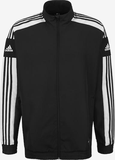 ADIDAS PERFORMANCE Trainingsjacke 'Squadra 21' in schwarz / weiß, Produktansicht