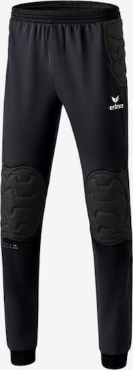 ERIMA Hose in schwarz / weiß, Produktansicht