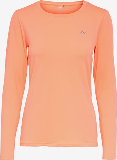 ONLY PLAY Functional shirt in pastel orange, Item view