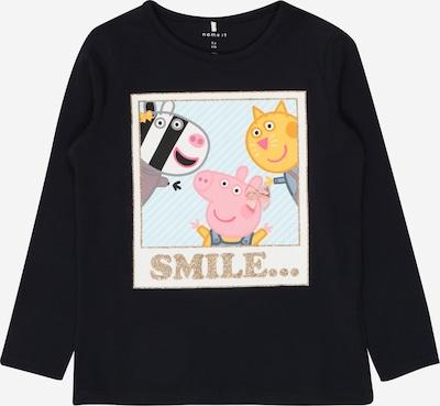 NAME IT Shirt 'PEPPA PIG NINA' in de kleur Donkerblauw / Gemengde kleuren, Productweergave
