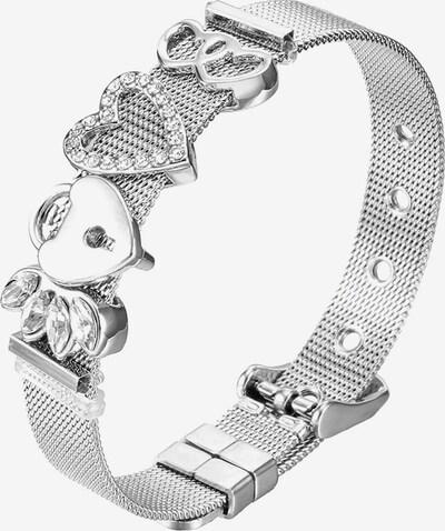 Heideman Armband 'Mesh' in silber, Produktansicht