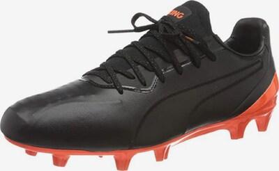 PUMA Chaussure de foot ' King Platinum Fg/ag ' en orange / noir, Vue avec produit