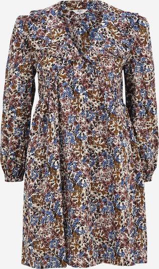 OBJECT Petite Kleid 'PENELOPE' in blau / dunkelgrün / orange / dunkelrot / weiß, Produktansicht