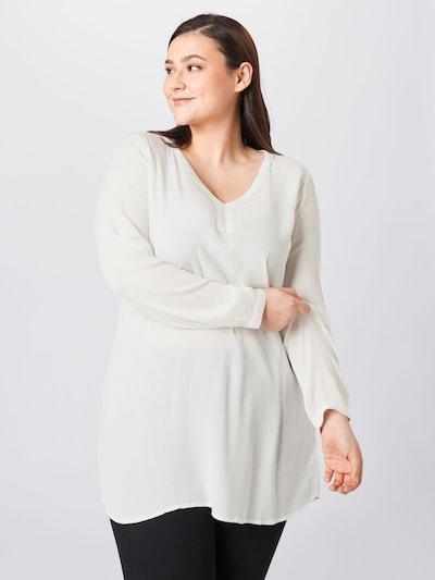 KAFFE CURVE Bluse 'Cami' in weiß, Modelansicht
