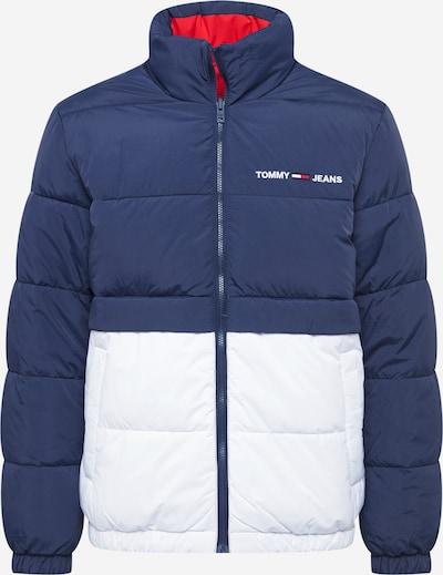 Tommy Jeans Vinterjakke i marin / navy / rød / hvid, Produktvisning