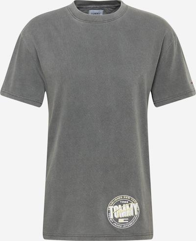 Marškinėliai iš Tommy Jeans, spalva – geltona / pilka / balta, Prekių apžvalga