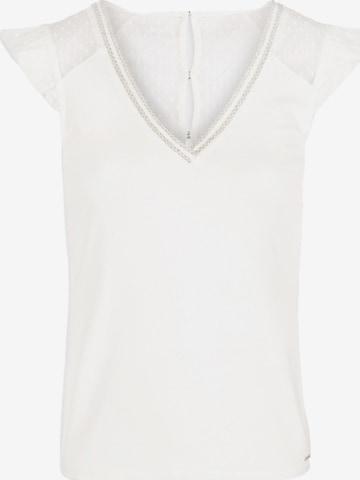 Morgan Shirt 'DUCHES' in Weiß
