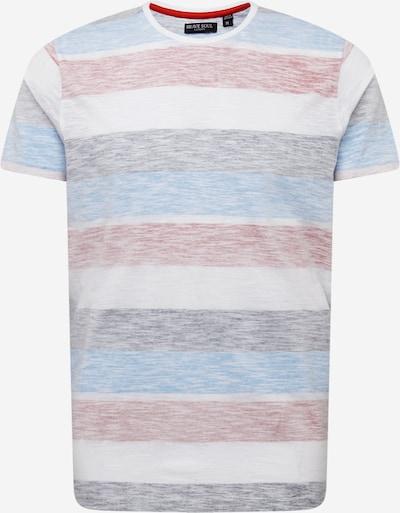 Tricou 'RANGEX' BRAVE SOUL pe albastru deschis / mov vânătă / roșu pastel / alb, Vizualizare produs