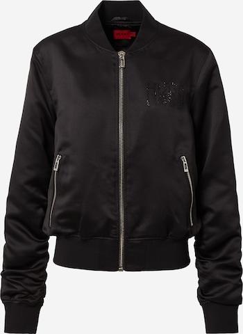HUGO Overgangsjakke 'Antiki-1' i svart