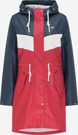 Schmuddelwedda Functionele mantel in de kleur Blauw / Rood / Wit, Productweergave