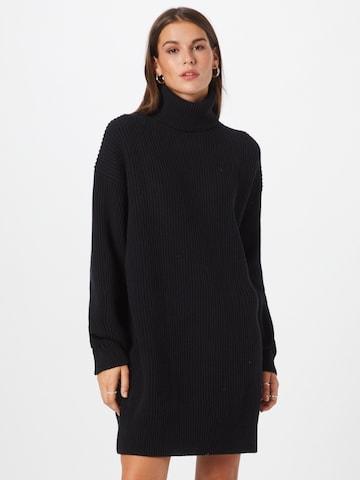 juoda DRYKORN Megzta suknelė 'DANY'
