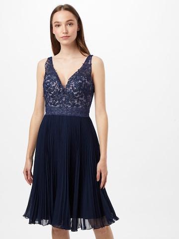 LUXUAR Kleid in Blau