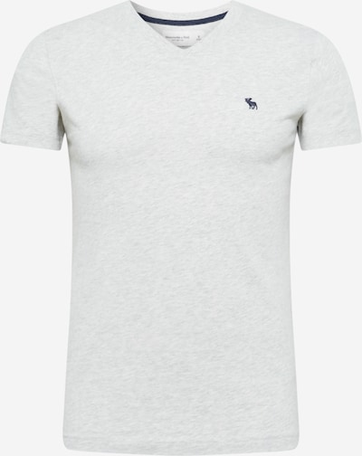 Abercrombie & Fitch Shirt in dark blue / light grey: Frontal view