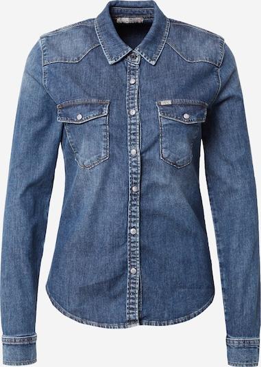 LTB Bluse 'Lucinda' in blue denim, Produktansicht