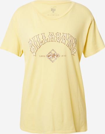 BILLABONG Shirt 'Z3SS11BIF1' - Žltá