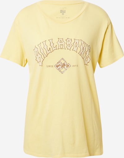 Tricou 'Z3SS11BIF1' BILLABONG pe maro / galben, Vizualizare produs