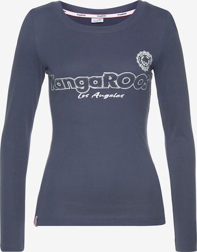 KangaROOS Shirt in dunkelblau / weiß: Frontalansicht
