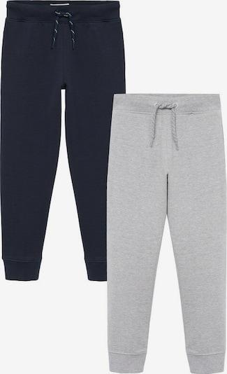 MANGO KIDS Kalhoty 'Franptpk-i' - námořnická modř / šedá, Produkt