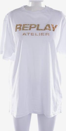 REPLAY Shirt in XL in weiß, Produktansicht