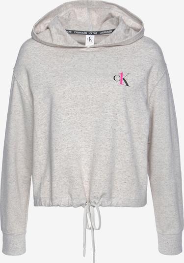 Calvin Klein Sweat-shirt 'Lounge' en beige chiné, Vue avec produit