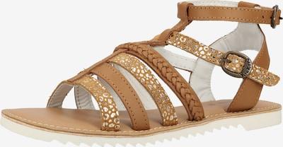 KICKERS Sandalen in hellbraun, Produktansicht