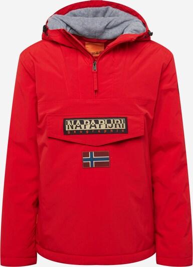 NAPAPIJRI Prechodná bunda 'RAINFOREST' - béžová / červená / čierna, Produkt