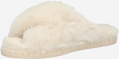espadrij l´originale Hausschuh 'Croisette' in wollweiß, Produktansicht