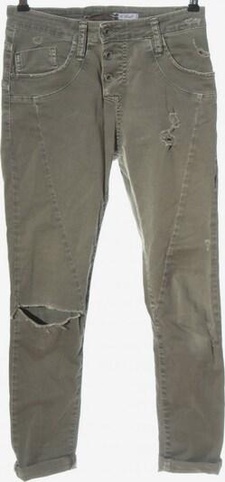 PLEASE High Waist Jeans in 25-26 in hellgrau, Produktansicht